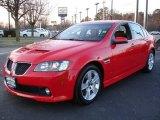 2009 Liquid Red Pontiac G8 GT #25464138