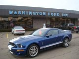 2007 Vista Blue Metallic Ford Mustang Shelby GT500 Coupe #25464448