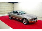 2005 Mineral Grey Metallic Ford Mustang V6 Premium Coupe #25464290