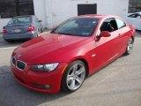 2007 Crimson Red BMW 3 Series 335i Convertible #25464153