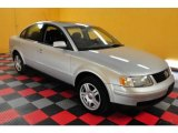 2000 Satin Silver Metallic Volkswagen Passat GLX V6 AWD Wagon #25464474