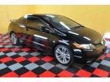 2007 Nighthawk Black Pearl Honda Civic Si Coupe #25464476