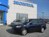 2008 Royal Blue Pearl Honda CR-V EX-L 4WD #25464168