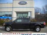 2010 Tuxedo Black Ford F150 XLT SuperCrew 4x4 #25464198