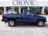 2000 Indigo Blue Metallic Chevrolet Silverado 1500 Regular Cab #25464367