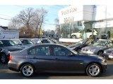 2008 Sparkling Graphite Metallic BMW 3 Series 328xi Sedan #25464218