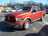 2009 Sunburst Orange Pearl Dodge Ram 1500 SLT Crew Cab #25464388