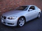 2007 Titanium Silver Metallic BMW 3 Series 328xi Coupe #25464251