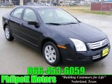 2008 Dark Blue Ink Metallic Ford Fusion S #25464397