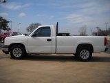 2006 Summit White Chevrolet Silverado 1500 Work Truck Regular Cab #25500782