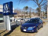 2007 Kinetic Blue Pearl Acura TL 3.5 Type-S #25501097