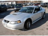 2001 Silver Metallic Ford Mustang GT Coupe #25501278