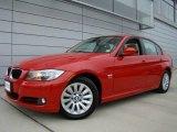 2009 Crimson Red BMW 3 Series 328xi Sedan #25500845