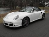 2008 Carrara White Porsche 911 Turbo Cabriolet #25500852