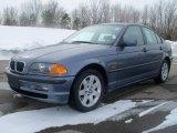 2001 Steel Blue Metallic BMW 3 Series 325xi Sedan #25500865