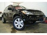 2006 Super Black Nissan Murano S AWD #25501183