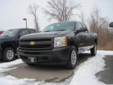 Taupe Gray Metallic Chevrolet Silverado 1500 in 2010