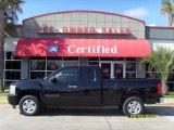 2007 Black Chevrolet Silverado 1500 LT Extended Cab #25500879