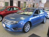 2010 Sport Blue Metallic Ford Fusion SEL V6 #25500886