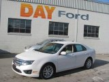 2010 White Suede Ford Fusion SEL #25500887