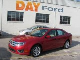 2010 Sangria Red Metallic Ford Fusion SEL V6 #25500889