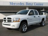 2006 Bright White Dodge Ram 1500 Sport Quad Cab 4x4 #25501054