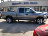 2008 Mineral Gray Metallic Dodge Ram 1500 Big Horn Edition Quad Cab #25501060