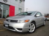 2006 Galaxy Gray Metallic Honda Civic EX Coupe #25501065