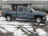 2006 Blue Granite Metallic Chevrolet Silverado 1500 Z71 Extended Cab 4x4 #25501076