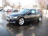 2007 Black Sapphire Metallic BMW 3 Series 328xi Coupe #25537716