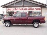 2001 Dark Garnet Red Pearl Dodge Ram 1500 SLT Club Cab 4x4 #25537861