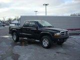 2004 Black Dodge Dakota Sport Club Cab 4x4 #25538056