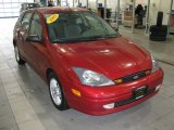 2003 Sangria Red Metallic Ford Focus ZX5 Hatchback #25538067