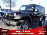 2010 Black Jeep Wrangler Rubicon 4x4 #25537770