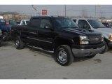 2003 Black Chevrolet Silverado 2500HD LS Crew Cab 4x4 #25538068