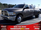 2010 Austin Tan Pearl Dodge Ram 3500 Big Horn Edition Crew Cab Dually #25537772