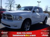 2010 Stone White Dodge Ram 1500 SLT Crew Cab #25537776