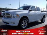 2010 Stone White Dodge Ram 1500 SLT Crew Cab #25537785