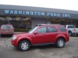2009 Sangria Red Metallic Ford Escape Limited V6 4WD #25537934