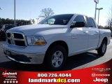 2010 Stone White Dodge Ram 1500 SLT Crew Cab #25537792