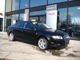 2008 Brilliant Black Audi A4 2.0T quattro Sedan #25537812