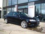 2008 Brilliant Black Audi A4 2.0T quattro Sedan #25537813