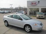 2007 Ultra Silver Metallic Chevrolet Cobalt LS Coupe #25581110