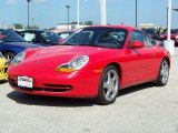 1999 Guards Red Porsche 911 Carrera Coupe #245730