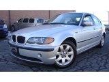 2004 Titanium Silver Metallic BMW 3 Series 325i Sedan #25580991