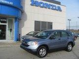 2007 Glacier Blue Metallic Honda CR-V LX 4WD #25580701