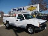 2006 Summit White Chevrolet Silverado 1500 Work Truck Regular Cab 4x4 #25580864
