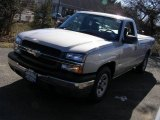 2005 Silver Birch Metallic Chevrolet Silverado 1500 LS Regular Cab #25580883
