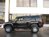 2009 Black Hummer H3  #25581194