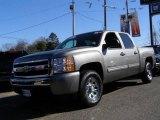 2009 Graystone Metallic Chevrolet Silverado 1500 LT Crew Cab 4x4 #25580887